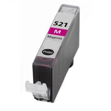 Cartouche D'encre Compatible Canon CLI 521M – 2935B001 – CLI521 – Magenta