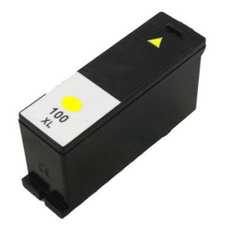 100 – Cartouche D'encre Compatible Lexmark 100 XL 14N1071E – Jaune XL
