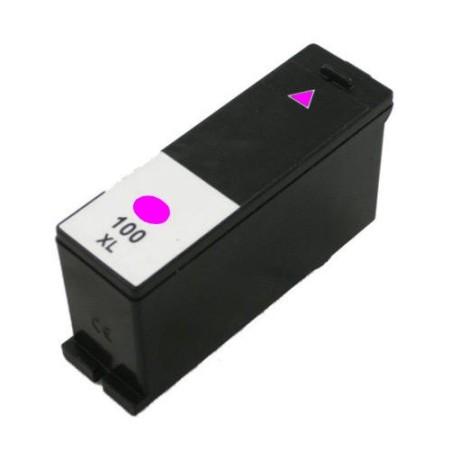 100 – Cartouche D'encre Compatible Lexmark 100 XL 14N1068E – Magenta XL