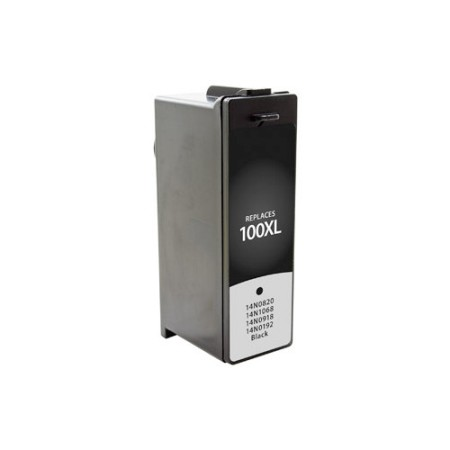 Cartouche D'encre Compatible Lexmark 100 XL 14N1068E – Noir XL