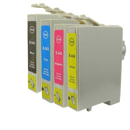 0445 – Cartouche D'encre Compatible Epson T0445 –  Pack 4 Couleurs