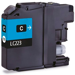 Cartouche D'encre Compatible Brother LC 223C – LC223 – Cyan