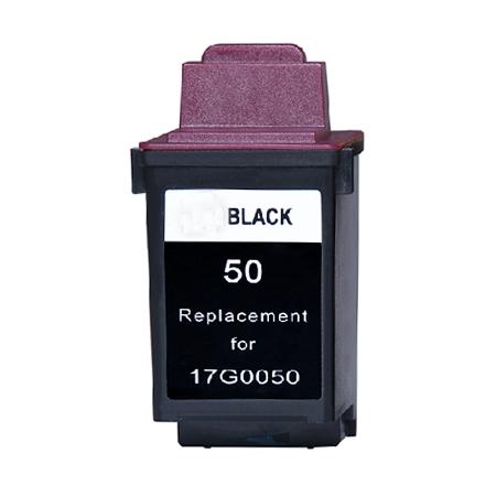 50 – Cartouche D'encre Compatible Lexmark 50 – 17G0050 – Noir
