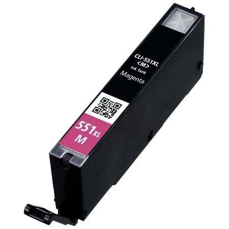 Cartouche Compatible Canon CLI-551M XL – 6445B001 – CLI551 – Magenta XL