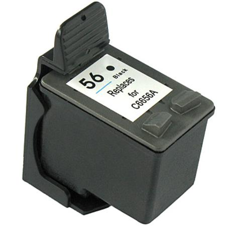 Cartouche D'encre Compatible HP 56 – C6656A – HP56 – Noir