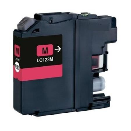 123 – Cartouche D'encre Compatible Brother LC 123M – LC123 – Magenta