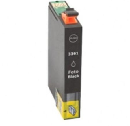 Cartouche D'encre Compatible Epson T33XL – T3361 – Orange – Noir XL