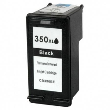 HP 350XL- HP350 - Noir