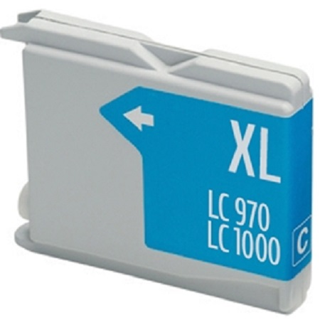 1000 – Cartouche D'encre Compatible Brother LC-1000C – LC1000 – Cyan