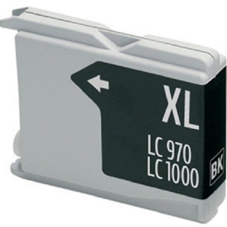 1000 – Cartouche D'encre Compatible Brother LC-1000BK – LC1000 – Noir