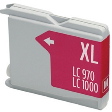 1000 – Cartouche D'encre Compatible Brother LC-1000M – LC1000 – Magenta