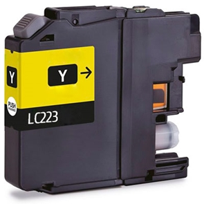 Cartouche D'encre Compatible Brother LC 223Y – LC223 – Jaune