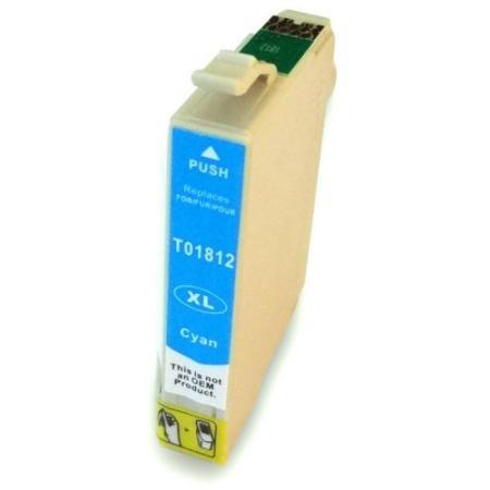 Cartouche D'encre Compatible Epson T1812 – Pâquerette – Cyan XL