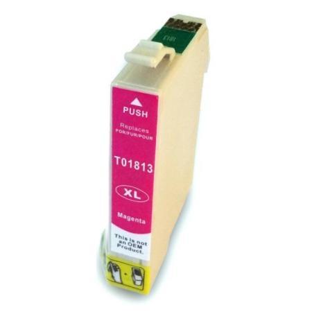 Cartouche D'encre Compatible Epson T1813 – Pâquerette – Magenta XL