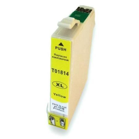 Cartouche D'encre Compatible Epson T1814 – Pâquerette – Jaune XL