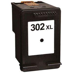 302 – Cartouche D'encre équivalent HP-302XL-F6U68AE Compatible (HP302) NOIR XL