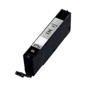 571 – Cartouche D'encre équivalent CANON CLI-571BK XL – 0331C001 Compatible (CLI571) NOIR XL