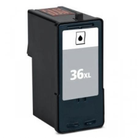 36 – Cartouche D'encre Compatible Lexmark 36XL – 018C2170E – 018C2190E – Noir