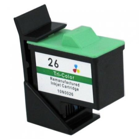 Cartouche D'encre Compatible Lexmark 26 – 10N0026 – Tricolor XL