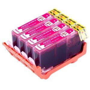 364- 4 Cartouches D'encre équivalent HP-364XL CB324EE Compatible (HP364) MAGENTA XL