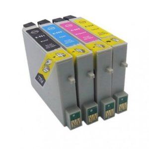 0556 – Cartouche D'encre équivalent EPSON T0556 Compatible «série Cannard» PACK 4 COULEURS