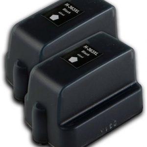 363 – 2 Cartouches D'encre équivalent HP-363-C8721 Compatible (HP363) NOIR