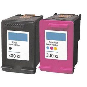 300 – Cartouche D'encre équivalent HP-300 Compatible (HP300) NOIR Et TRICOLOR XL