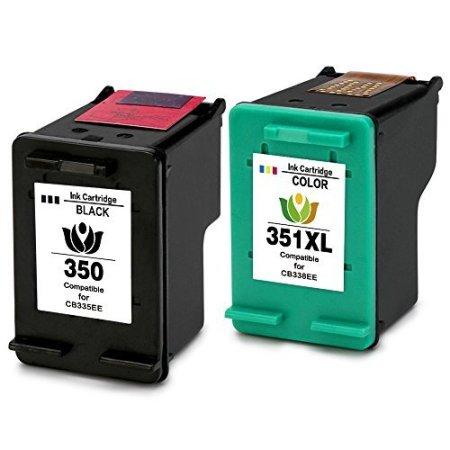 Cartouche Compatible HP 350XL – HP 351XL – HP350-351 – Noir Et Tricolor