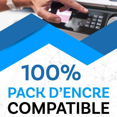 100% pack d'encre compatible