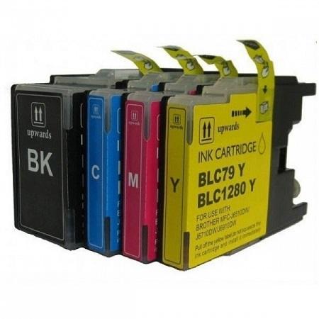 Cartouche D'encre Compatible Brother LC 1280VALBP XL – LC1280 – 4 Couleurs