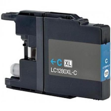 1280 – Cartouche D'encre Compatible Brother LC 1280XLC – LC1280 – Cyan