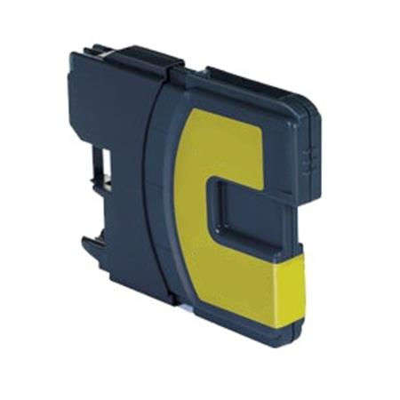 Cartouche D'encre Compatible Brother LC-980Y – LC980 – Jaune