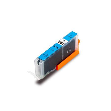 Cartouche Compatible Canon CLI-581C XXL – CLI581XXL – 1995C001 – Cyan