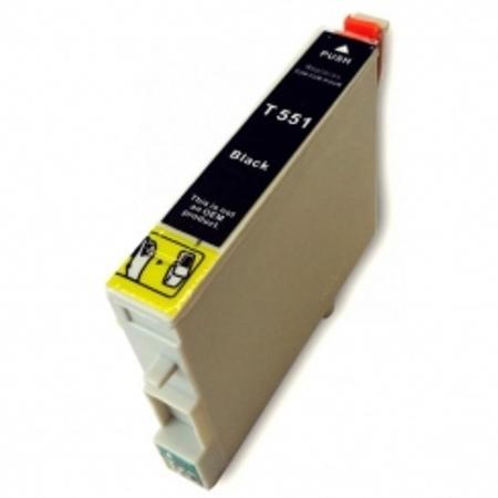 0551 – Cartouche D'encre Compatible Epson T0551 – Canard – Noir