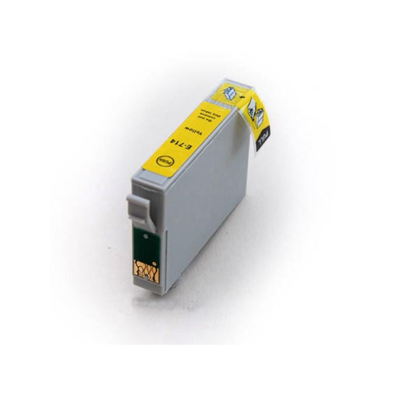 Cartouche Compatible Epson T0712 – T0894 – Guépard Et Singe – Jaune