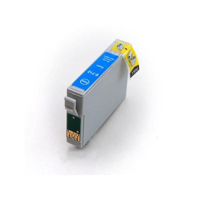 Cartouche Compatible Epson T0712 – T0892 – Guépard Et Singe – Cyan