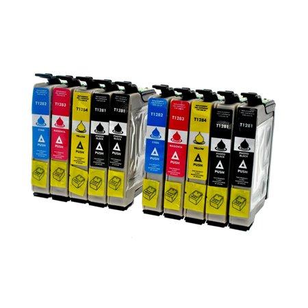 Cartouche D'encre Compatible Epson T1285  – Renard – Pack 10 Cartouches