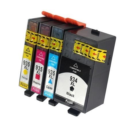 Cartouche Compatible HP 934 XL – HP 935 XL – HP934 – HP935 – 4 Couleurs