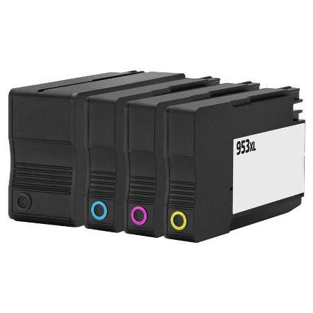 953 – Cartouche D'encre Compatible HP 953 XL – Pack 4 Couleurs