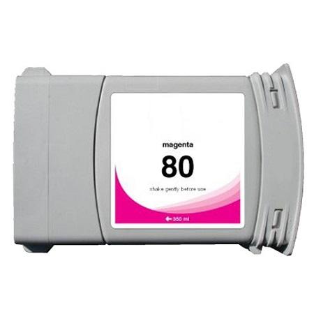 Cartouche Compatible HP 80 – 350 Ml – C4847A – HP80 – Magenta