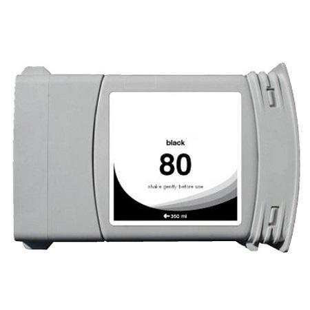 Cartouche Compatible HP 80 – 350 Ml – C4871A – HP80 – Noir